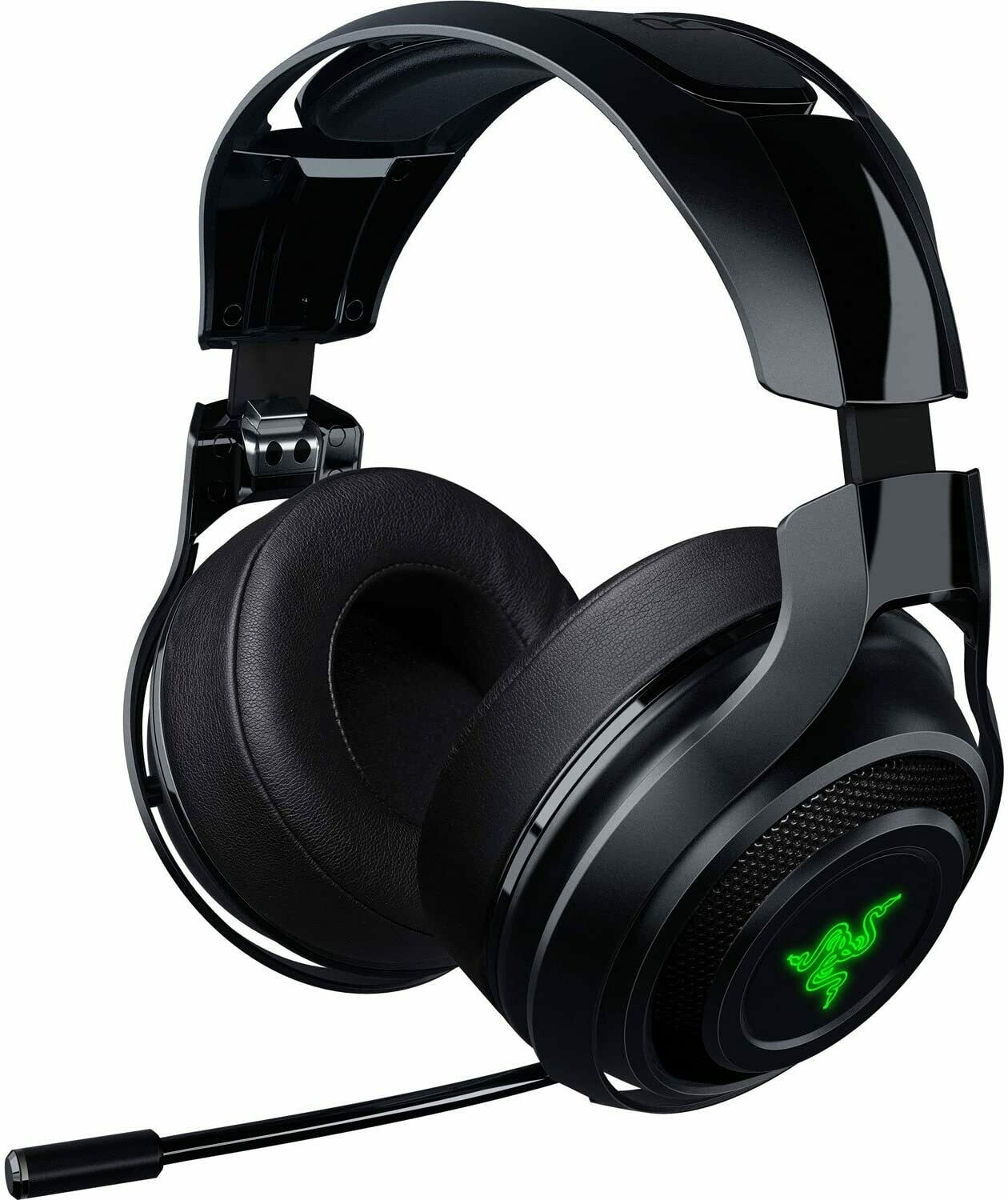 Razer ManO'War: Wired 7.1 Surround Sound Quick Action Controls - Unidirectional Retractable Mic - Gaming Headset Works with PC, PS4, & Xbox One