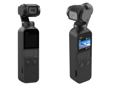 DJI Osmo Pocket 3-axis Stabilized Handheld Gimbal Camera