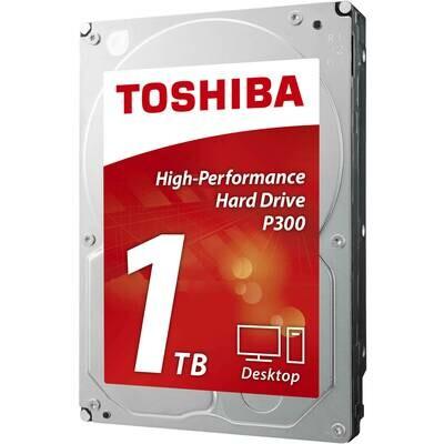 """Toshiba 1TB P300 3.5"""" 64MB 7200RPM HDD"""