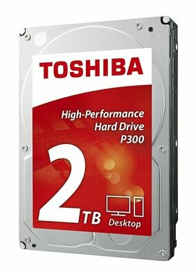 """Toshiba 2TB P300 3.5"""" 64MB 7200RPM HDD"""