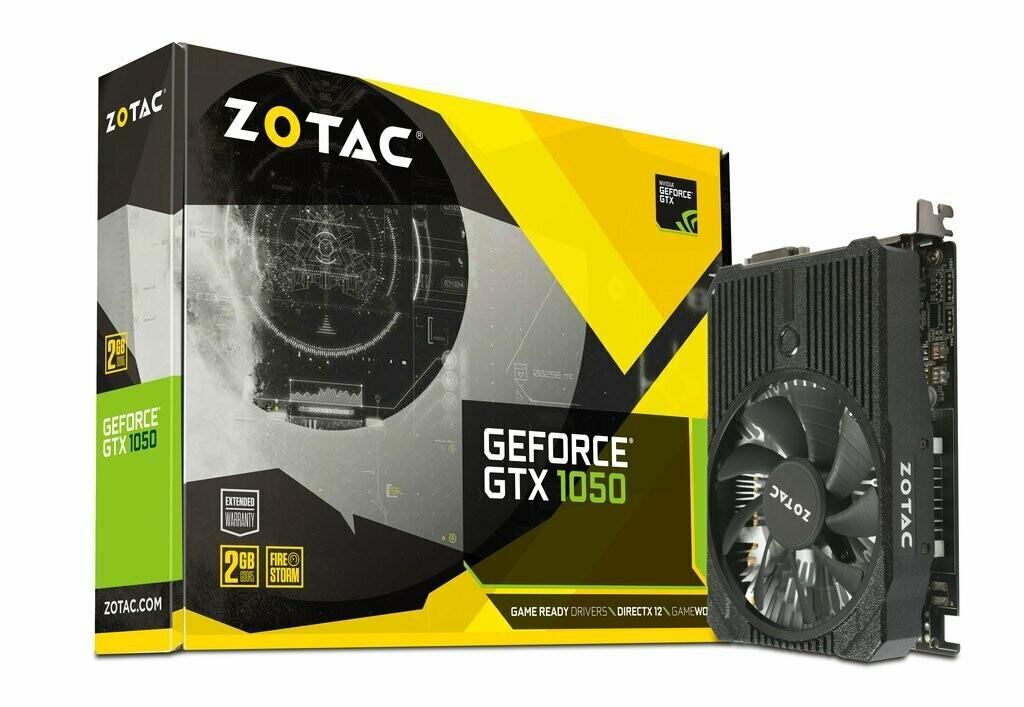 ZOTAC GeForce® GTX 1050 Mini 2GB GDDR5 128-bit Video Card