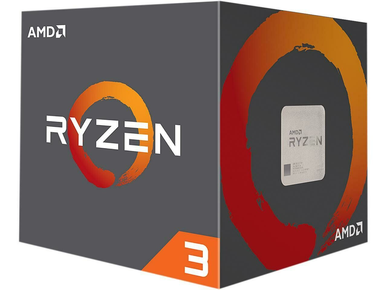 AMD RYZEN 3 1300X 4-Core 3.5 GHz (3.7 GHz Turbo) Socket AM4 65W Processor