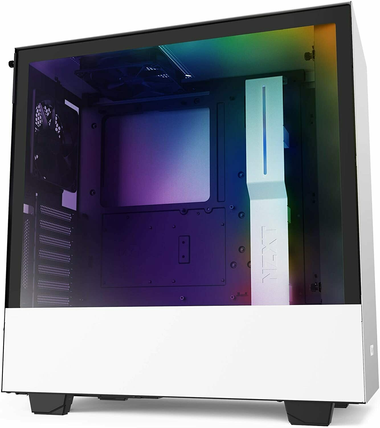 NZXT H510i Matte White ATX Mid Tower PC Gaming TG Case