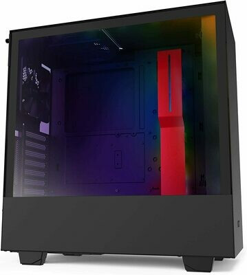 NZXT H510i Matte Red/Black ATX Mid Tower PC Gaming TG Case