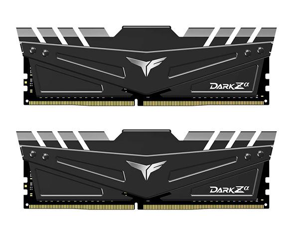 TEAMGROUP DARK Zα 16GB (2 x 8GB) DDR4 DRAM 3200MHz GAMING MEMORY Kit (FOR AMD)