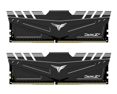 TEAMGROUP DARK Zα 16GB (2 x 8GB) DDR4 DRAM 3200MHz GAMING MEMORY Kit (FOR AMD)