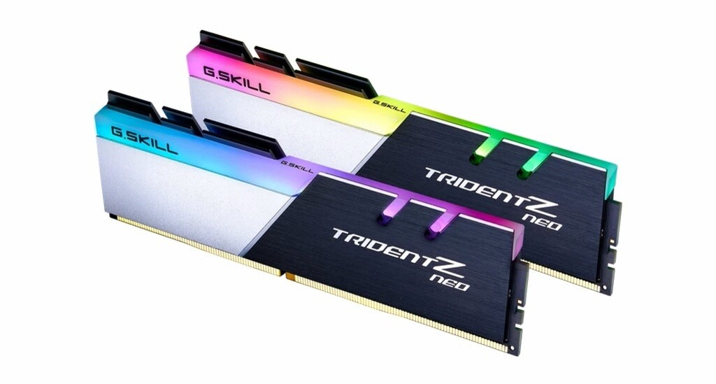 G.Skill Trident Z Neo RGB 16GB (2 x 8 GB) 3200mhz CL16 DDR4 Memory