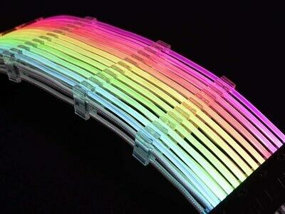 LIAN LI STRIMER 24 Pins Addressable RGB Power extension cable---- Strimer 24 Pins