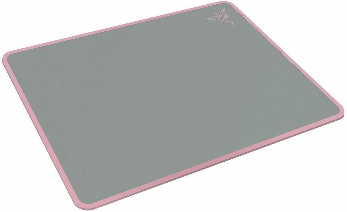 Razer Invicta Quartz Gaming Mouse Pad: Aircraft-Grade Aluminum Base - Included Double-Sided Mat Surface for Personalization - Anti-Slip Rubber Base
