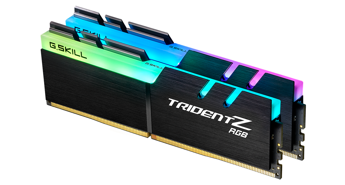 G.Skill Trident Z RGB 16GB (2 x 8 GB) 3600mhz CL18-22-22-42 DDR4 Memory