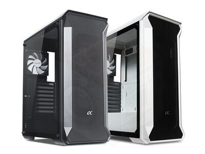 Tecware Alpha Tempered Glass Case ( Free 3x 120mm Fans )