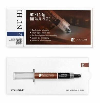 Noctua NT-H1 3.5g Pro-Grade Thermal Paste Compound