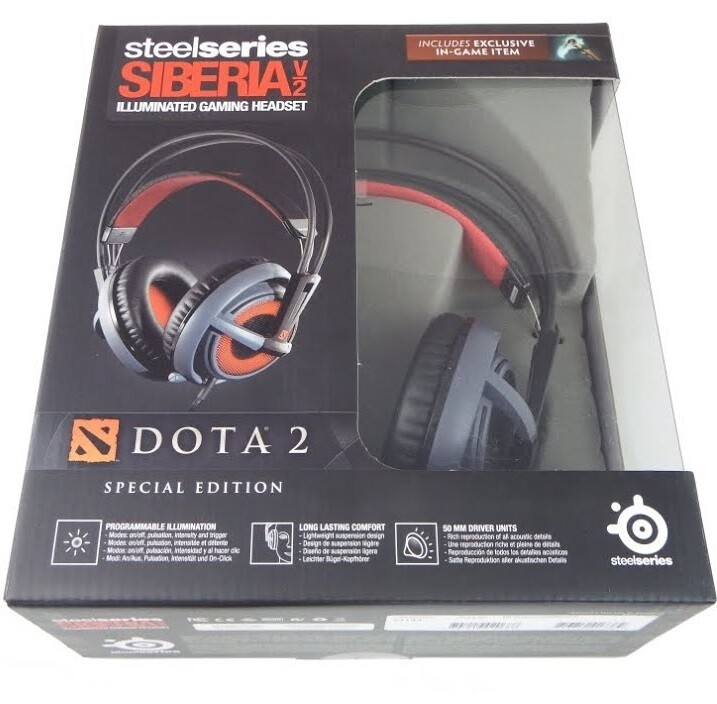 SteelSeries Siberia v2 - Dota 2 Edition - Headset
