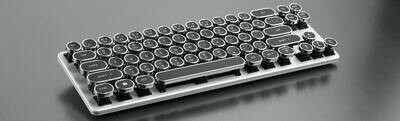 MAGICFORCE 68 MINI MECHANICAL TYPEWRITER KB (GATERON BROWN)