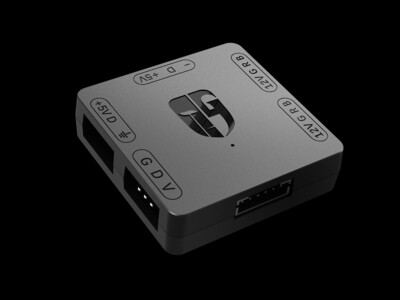 DEEPCOOL RGB Convertor 5V to 12V RGB Transfer Hub Gamerstorm