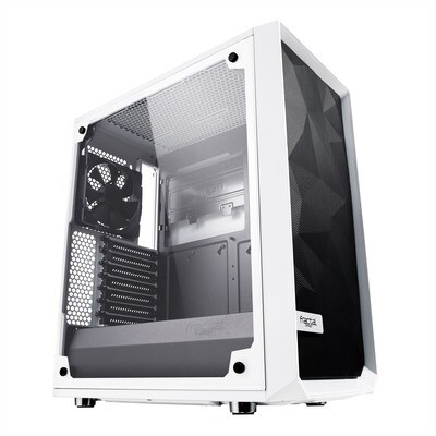 Fractal Design Meshify C White ATX Clear TG Gaming Case