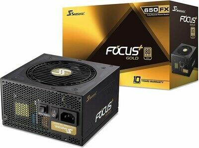 Seasonic FOCUS Plus 650 Gold SSR-650FX 650W 80+ Gold ATX12V & EPS12V Full Modular Power Supply