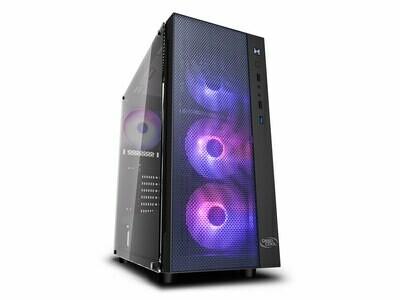 DEEPCOOL MATREXX 55 MESH ADD-RGB 4F Tempered Glass Case ( Free 4x ARGB 120mm Fans )