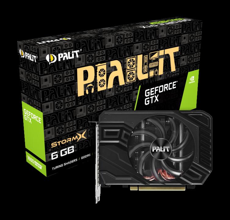 PALIT GeForce® GTX 1660 SUPER StormX 6GB GDDR6 192bit Video Card