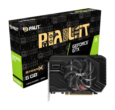 PALIT GeForce® GTX 1660 SUPER StormX 6GB GDDR6 192bit Video Card