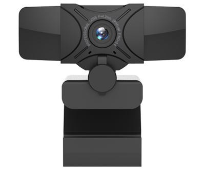 GSOU T12s webcam anti-peek, 1080p 2MP full hd 30 fps, Focus range 20mm, 77 degress viewing angle.