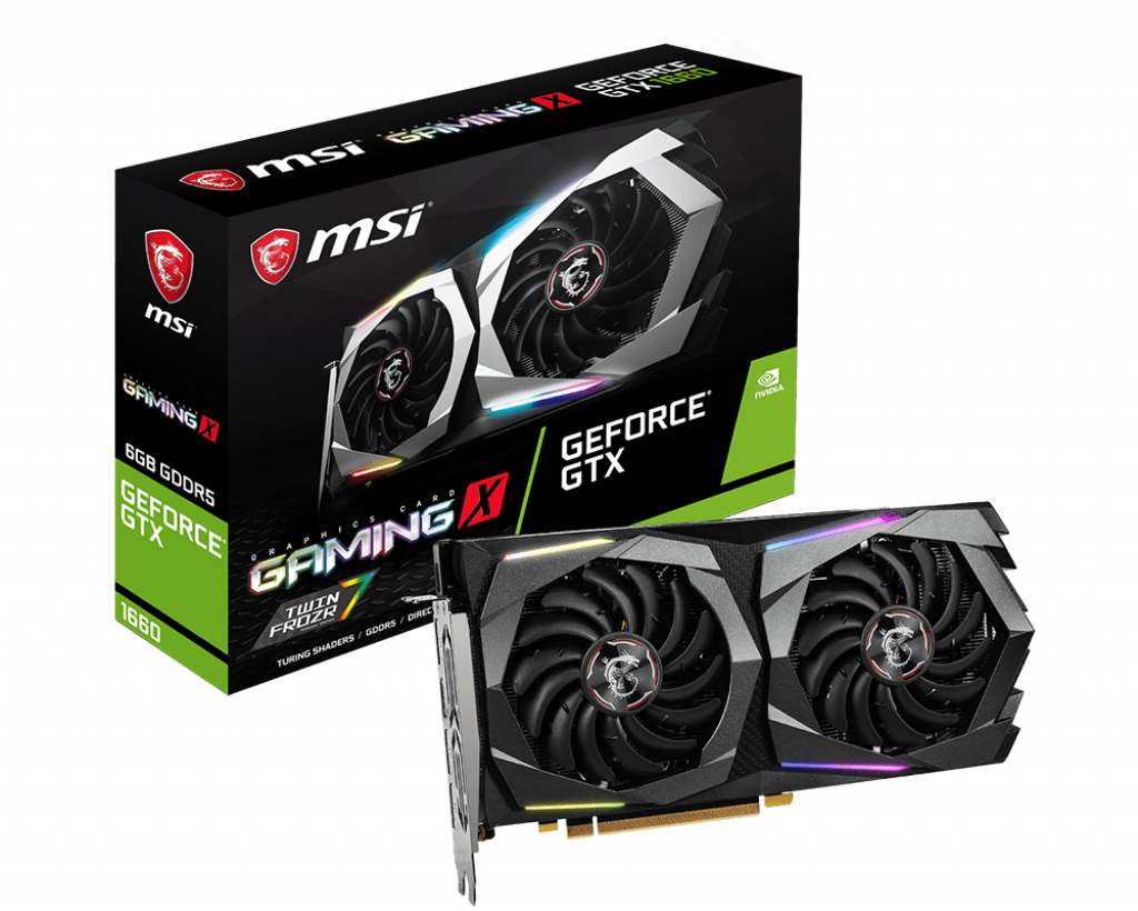 MSI GeForce GTX1660 Gaming X 6GB GDDR6 Video Card