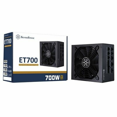 SilverStone 700W 80 Plus Gold Fully Modular Flat Cable Power Supply