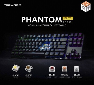 Tecware Phantom Elite TKL 87 Mechanical RGB Keyboard