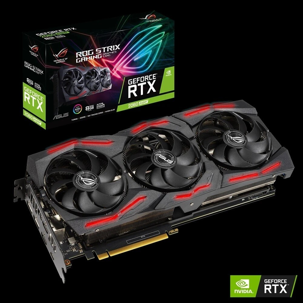 ASUS ROG Strix GeForce® RTX 2060 SUPER™ EVO V2 8GB GDDR6 Video Card