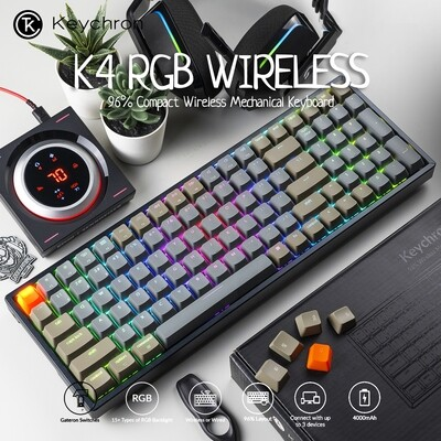 Keychron K4 RGB Wireless Mechanical Keyboard