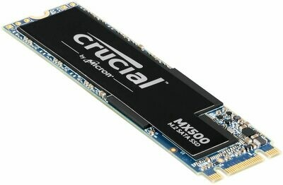 Crucial MX500 500GB 3D NAND SATA M.2 SSD