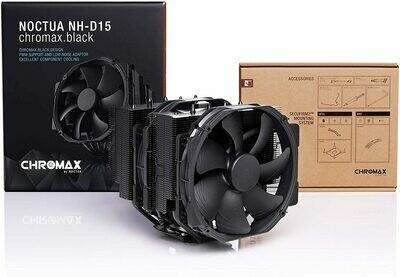 NOCTUA NH-D15 CHROMAX.BLACK 140MM DUAL-TOWER CPU COOLER