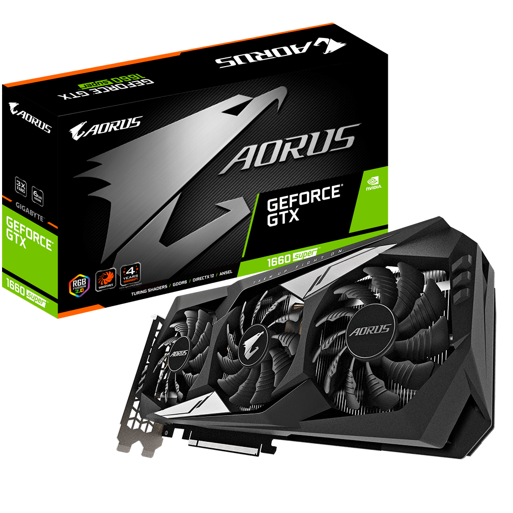 AORUS GeForce® GTX 1660 SUPER™ 6GB GDDR6 Video Card