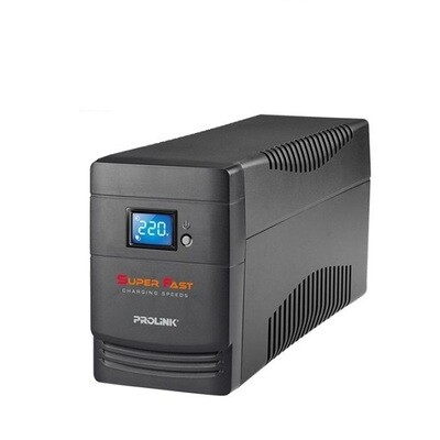 Prolink PRO700ST 650VA Superfast Charging Line Interactive UPS