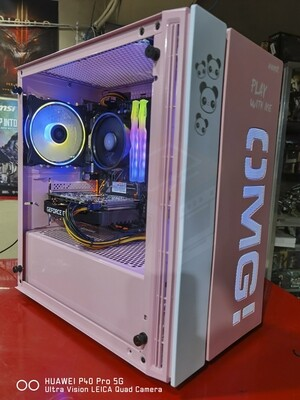 OMG Pink! Gaming System Unit