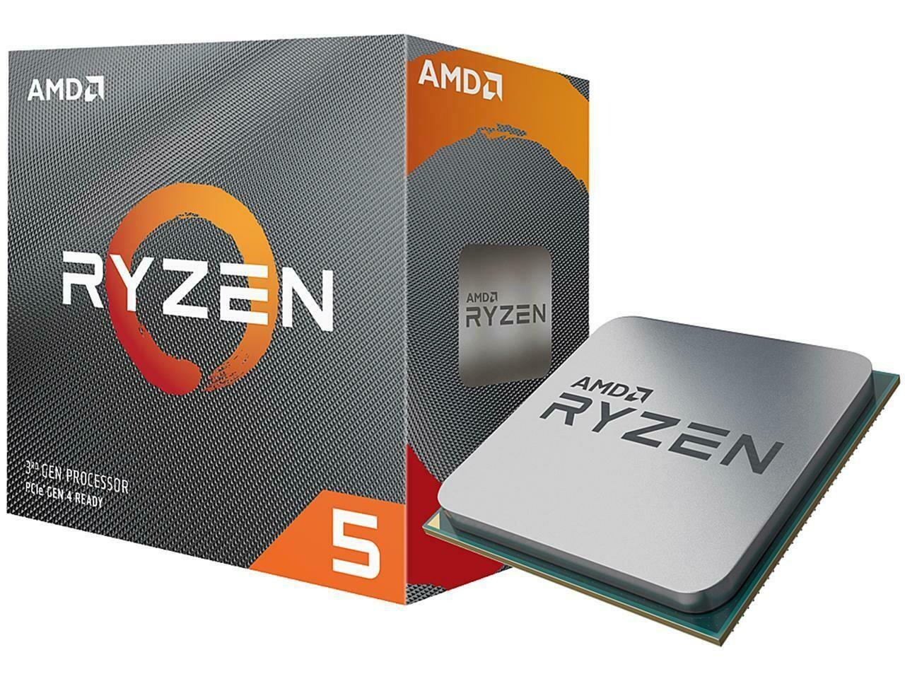 AMD RYZEN 5 3600 6-Core 3.6 GHz (4.2 GHz Max Boost) Socket AM4 65W Desktop Processor