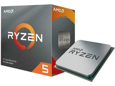 AMD RYZEN 5 3600 6-Core 3.6 GHz (4.2 GHz Max Boost) Socket AM4 65W Desktop Processor