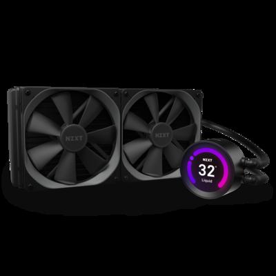NZXT Kraken Z63 - 280mm AIO RGB Liquid Cooler with LCD Display