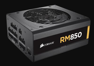 Corsair RM 850W 80 PLUS® Gold Certified Fully Modular PSU