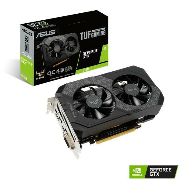 ASUS TUF Gaming GeForce® GTX 1650 OC Edition 4GB GDDR6 128-bit Video Card