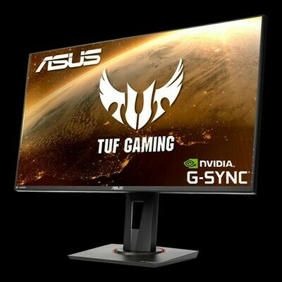 TUF Gaming VG279QM HDR Gaming Monitor – 27 inch FullHD (1920 x 1080), Fast IPS, Overclockable 280Hz (Above 240Hz, 144Hz), 1ms (GTG), ELMB SYNC, G-SYNC Compatible, DisplayHDR 400