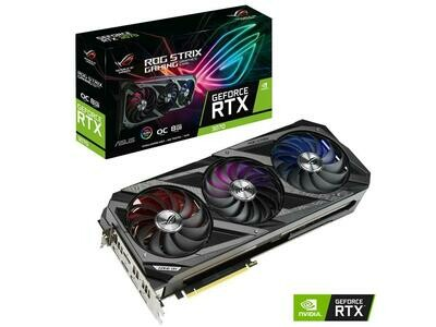 PRE-ORDER ASUS ROG Strix GeForce RTX 3070  8GB 256-Bit GDDR6 PCI Express 4.0 HDCP Ready Video Card