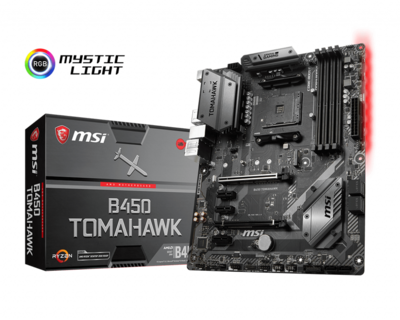 MSI B450 TOMAHAWK ATX AM4 Motherboard