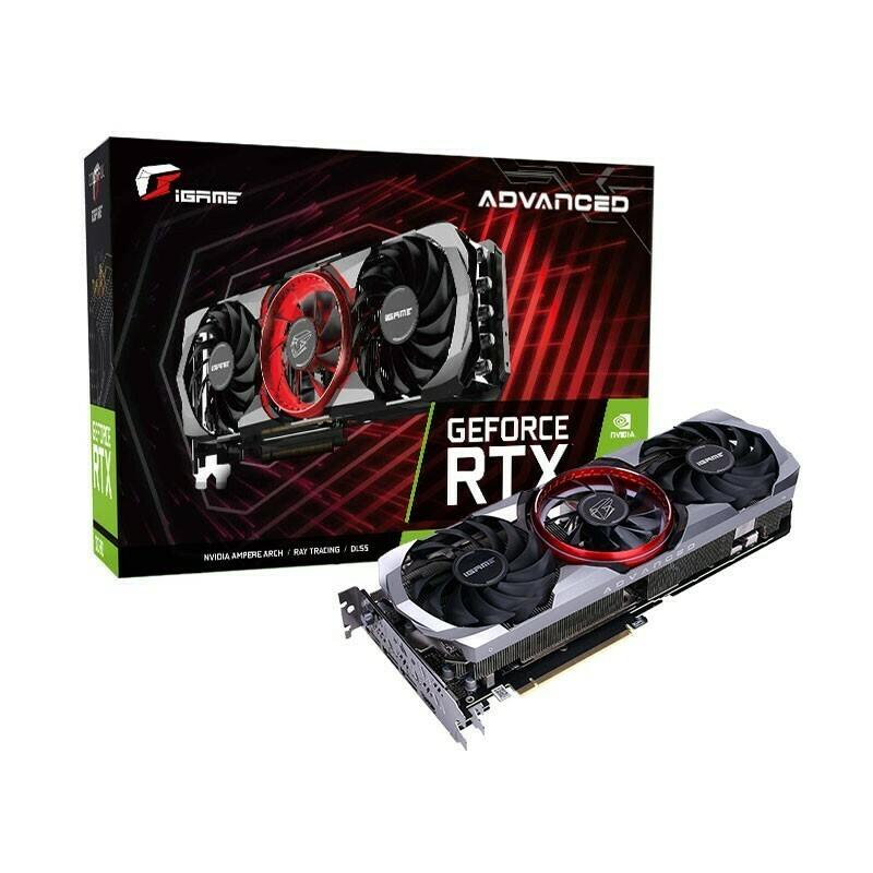 Colorful iGAME GeForce RTX3070 Advanced OC 8G GDDR6 256-bIt Video Card