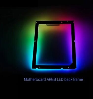 Lamptron ATX Motherboard ARGB LED Back Frame