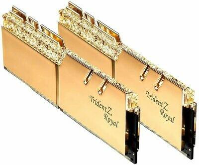 G.Skill Trident Z Royal Gold RGB 32 GB (2 x 16 GB) DDR4-3600 Memory