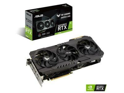 ASUS TUF OC Gaming GeForce RTX 3090 24GB 384-Bit GDDR6X PCI Express 4.0 x16 HDCP Ready SLI Support Video Card
