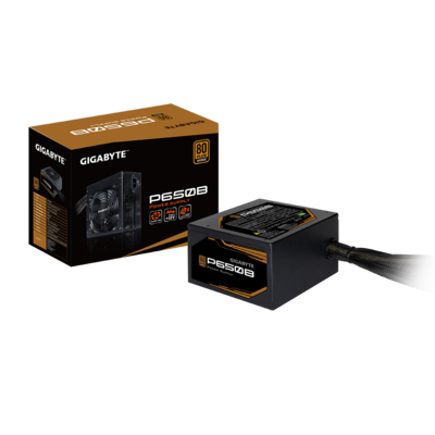 GIGABYTE 650W 80+ Bronze, Quiet Fan, Active Power Protection, Power Supply