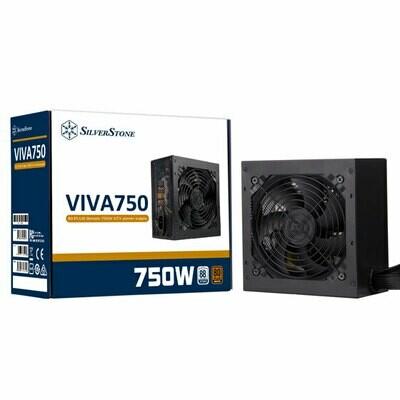 SILVERSTONE VIVA 750w Bronze 80 PLUS Bronze ATX power supply