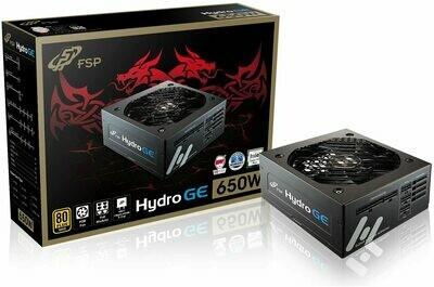 FSP HYDRO GE 650W 80PLUS GOLD Full Modular ATX ACTIVE PFC  POWER SUPPLY